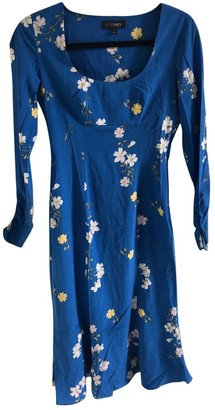 Intermix Blue Silk Dress for Women