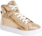 MICHAEL Michael Kors 'Ivy Rory' High Top Sneaker (Walker, Toddler, Little Kid & Big Kid)