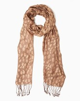 Charming charlie Leopard Luxe Scarf