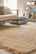 Urban Outfitters Woven Natural Jute Rug