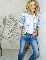 Paige Rosie HW x Collection Flo Bomber - Tie Dye Blue