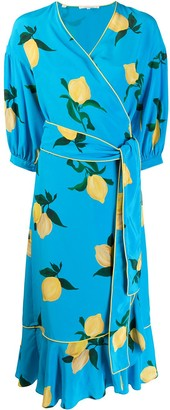 Chinti and Parker Floral Wrap Dress