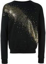 Saint Laurent milky way glitter embellished sweatshirt