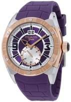 Mulco Fondo Croco MW118265055 Stainless Steel & Silicone Quartz 44mm Unisex Watch
