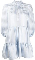 Veronica Beard Hawken striped dress
