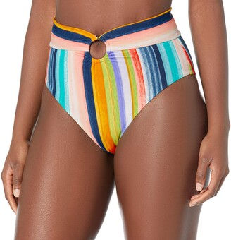 Body Glove Women's Woodstock High Waist Bikini Bottom Swimsuit