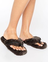 Bedroom Athletics Bedroom Athlectics Erica Spa Thong Slipper