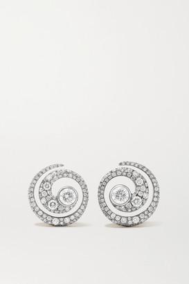 Jessica McCormack 18-karat White And Yellow Gold Diamond Earrings - One size
