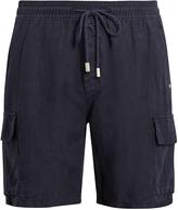Vilebrequin Bermuda drawstring-waist linen shorts