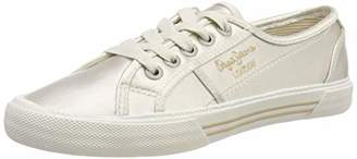 Pepe Jeans ABERLADY SMART, Women's Low-Top Trainers,(37 EU)