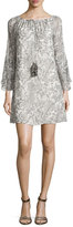 Ramy Brook Ruby Printed Silk Shift Dress