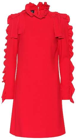 Giambattista Valli Ruffled crêpe dress