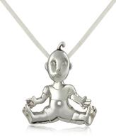 B. Paoletti I Mimmi - Sterling Silver Baby Pendant