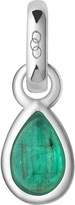 Links of London May sterling silver and emerald mini birthstone charm