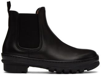 LEGRES Black Garden Chelsea Boots