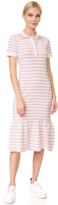 Natasha Zinko Short Sleeve Striped Dress