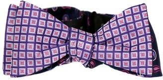 Buy Your Ties FBTZ-R-76 - Mens Aficionado 2 Sided Self Tie Bow Tie - Purple