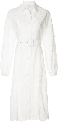Alice McCall Cloud Obscurity embroidered trench coat