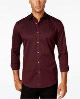 Alfani Men's Gingham Long-Sleeve Shirt
