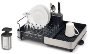 Joseph Joseph Hygienic Soap Dispenser & Smart Dish Rack Set