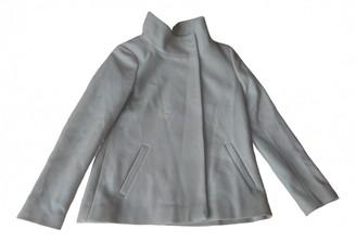 Hallhuber Beige Wool Coat for Women