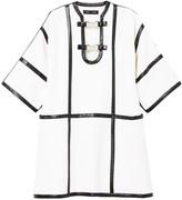 Proenza Schouler Leather Trimmed Dress