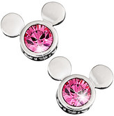 Disney Mickey Mouse Icon Earrings by Arribas - Pink