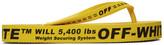 Off-White Off White Yellow Logo Flip Flops