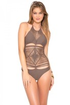 Luli Fama Heart Of A Hippie Weave One Piece in Sandy Toes (L478700)