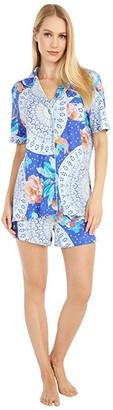 Johnny Was Coi Short Sleep Set (Multi) Women's Pajama Sets