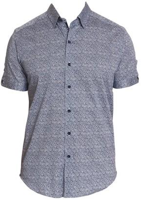 Robert Graham Porter Floral Stretch-Cotton Shirt
