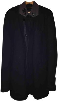 Armani Jeans Black Wool Coats