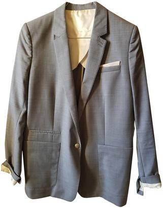 The Kooples Fall Winter 2019 Grey Wool Jackets