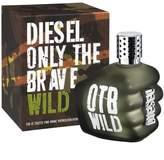 Diesel Eau De Toilette Spray for Men, Only The Brave Wild, 4.2 Ounce