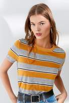 Truly Madly Deeply Striped Crew-Neck Tee