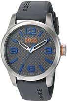 HUGO BOSS BOSS Orange Men's Paris Quartz Stainless Steel Casual Watch (Model: 1513349)