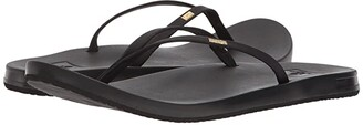 Reef Cushion Bounce Slim (Black) Women's Sandals