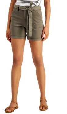 Style&Co. Style & Co Utility Shorts, Created for Macy's