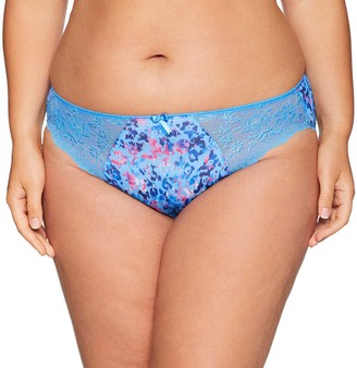 Elomi Women's Plus Size Morgan Stretch Lace Insert Brief