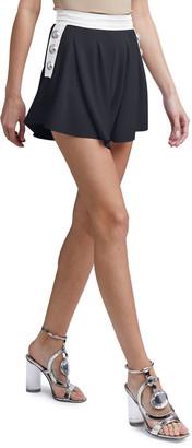 Balmain High-Rise Jersey Shorts