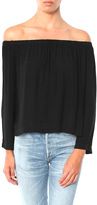 Bella Dahl Long Sleeve Off Shoulder Top