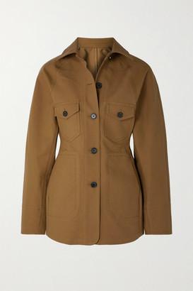 Lvir LVIR - Cotton-canvas Jacket - Mustard