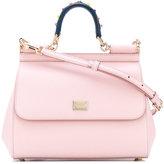 Dolce & Gabbana medium Sicily bag - women - Calf Leather/metal - One Size