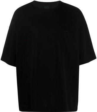 Juun.J embroidered logo oversize T-shirt