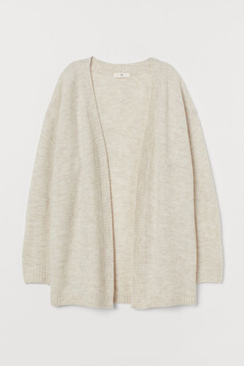 H&M Cardigan without Buttons - Beige