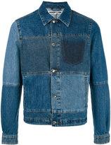 McQ by Alexander McQueen patchwork denim jacket - men - Cotton - 50