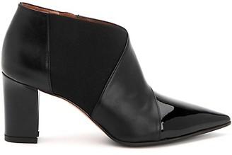 Marvin K Mila Waterproof Patent Leather Booties