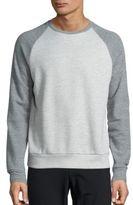 Theory Veton Axis Baseball Sweatshirt