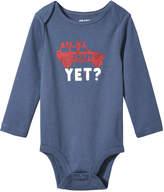 Joe Fresh Baby Boys' Graphic Bodysuit, Denim Blue (Size 12-18)