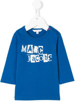Little Marc Jacobs logo print top